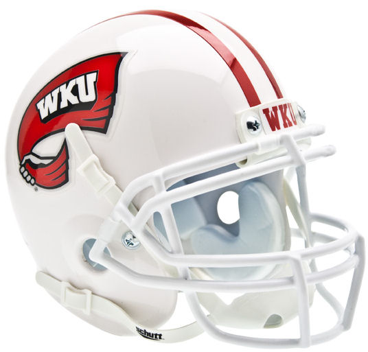 Western Kentucy Hilltoppers Schutt XP Mini Helmet