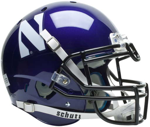 Northwestern Wildcats Authentic Schutt XP Full Size Helmet