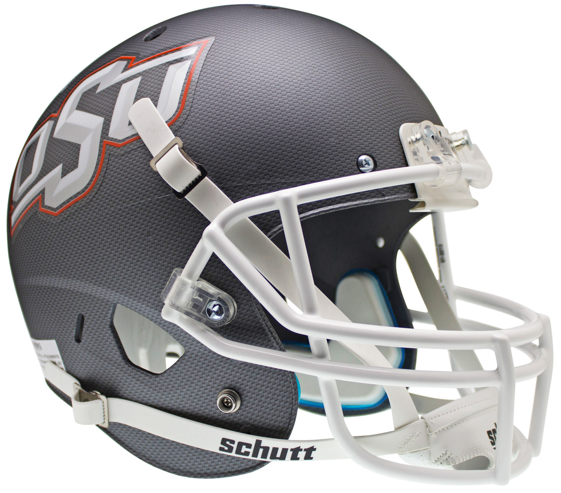 Oklahoma State Cowboys Replica Schutt XP Full Size Helmet - Cross Hatch