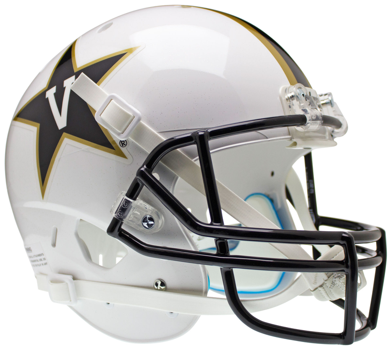 Vanderbilt Commodores Replica Schutt XP Full Size Helmet - White