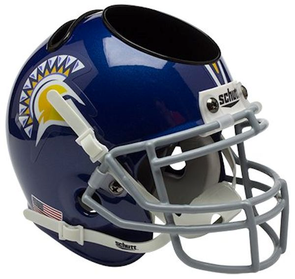 San Jose State Spartans Mini Helmet Desk Caddy