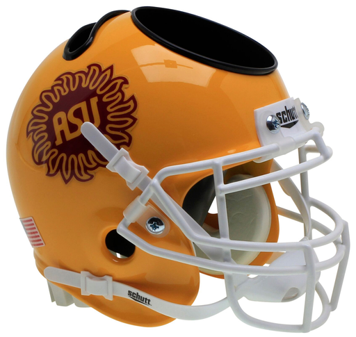 Arizona State Sun Devils Mini Helmet Desk Caddy - Sunburst