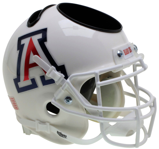 Arizona Wildcats Mini Helmet Desk Caddy - White Large A