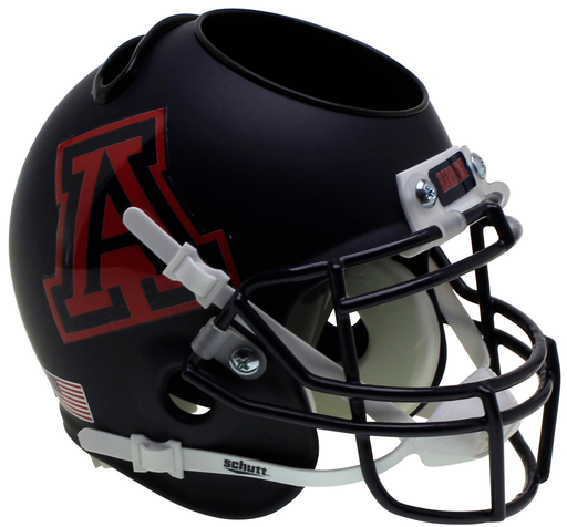 Arizona Wildcats Mini Helmet Desk Caddy - Matte Navy