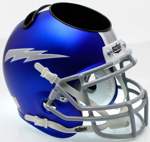 Air Force Falcons Mini Helmet Desk Caddy - Satin Blue
