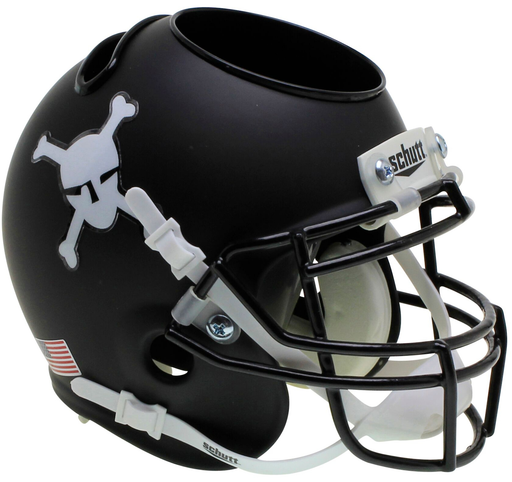 Army Black Knights Mini Helmet Desk Caddy - Matte Black