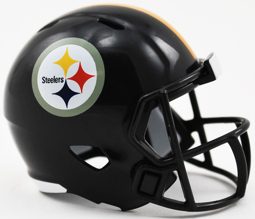 Pittsburgh Steelers Riddell Speed Pocket Pro Helmet