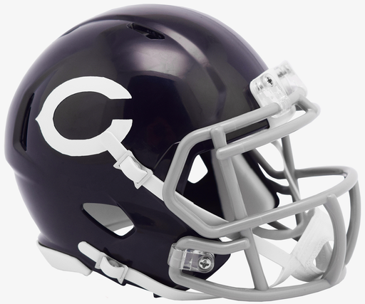 Chicago Bears Riddell Mini Speed Helmet - 60 Classic