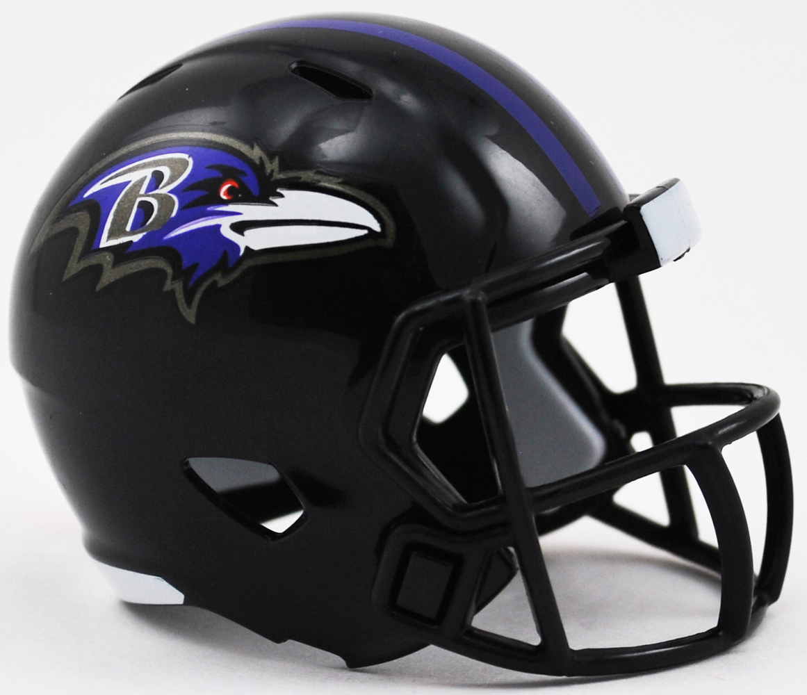 Baltimore Ravens Riddell Speed Pocket Pro Helmet