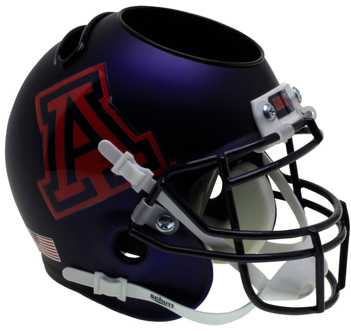 Arizona Wildcats Mini Helmet Desk Caddy - Satin Navy