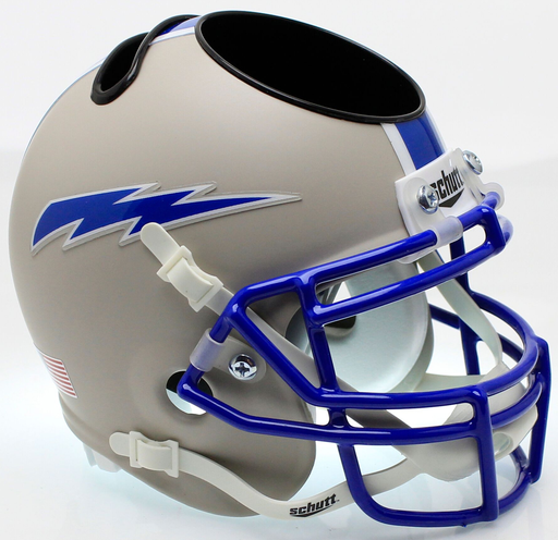 Air Force Falcons Mini Helmet Desk Caddy - Matte Gray