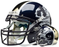 Notre Dame Fighting Irish Authentic Schutt XP Full Size Helmet - Leprechaun
