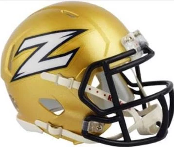 Akron Zips Riddell Mini Speed Helmet - 2018