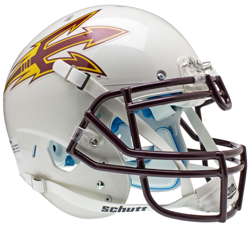 Arizona State Sun Devils Authentic Schutt XP Full Size Helmet - White