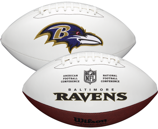 Baltimore Ravens Official Wilson NFL Autograph Series Football