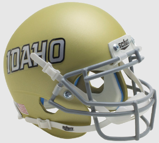 Idaho Vandals Schutt XP Mini Helmet - Gold Idaho