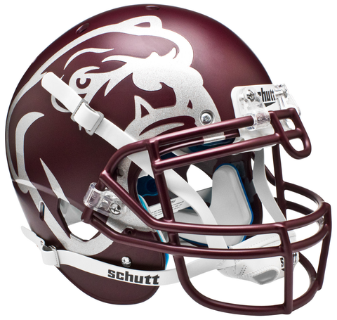 Mississippi State Bulldogs Authentic Maroon Schutt XP Full Size Helmet - Laser Etched