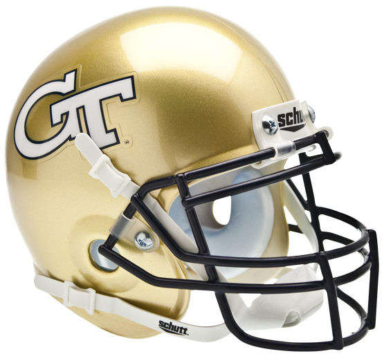 Georgia Tech Yellow Jackets Schutt XP Mini Helmet