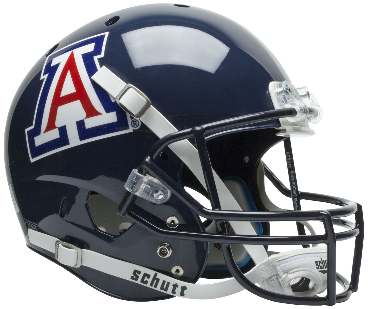 Arizona Wildcats Replica Schutt XP Full Size Helmet - Blue