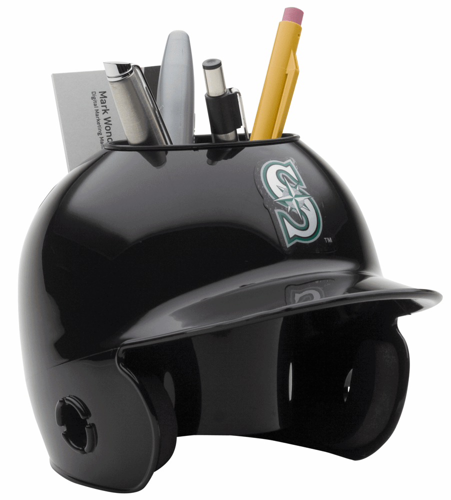 Seattle Mariners Mini Batters Helmet Desk Caddy