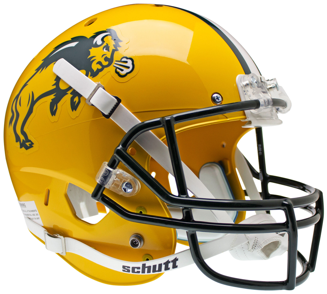 North Dakota State Bison Replica Schutt XP Full Size Helmet