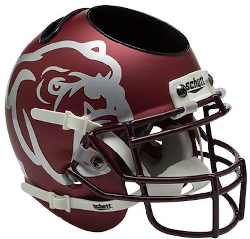 Mississippi State Bulldogs Mini Helmet Desk Caddy - Maroon