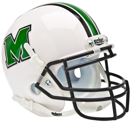 Marshall Thundering Herd Schutt XP Mini Helmet
