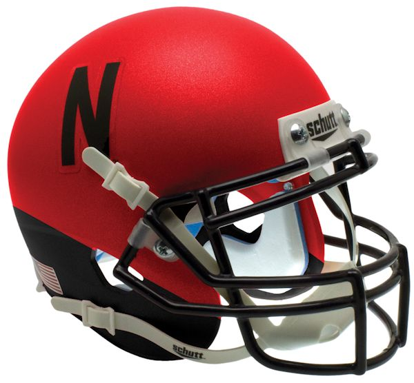 Nebraska Cornhuskers Schutt XP Mini Helmet - Red and Black