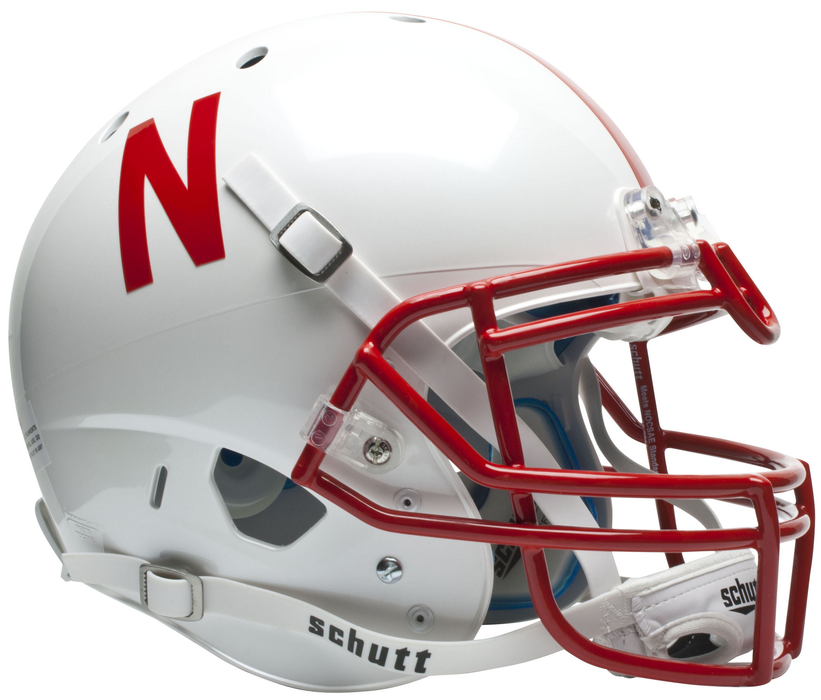 Nebraska Cornhuskers Authentic Schutt XP Full Size Helmet