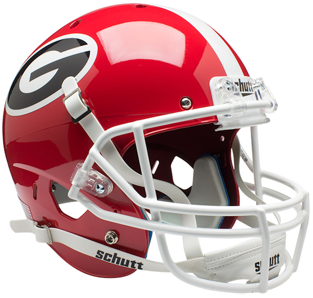 Georgia Bulldogs Replica Schutt XP Full Size Helmet