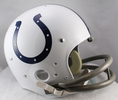 Indianapolis Colts Replica Full Size Throwback Helmet - 1957 to 1977 TK