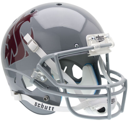 Washington State Cougars Replica Schutt XP Full Size Helmet