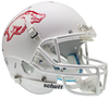Arkansas Razorbacks Replica Schutt XP Full Size Helmet - Matte White