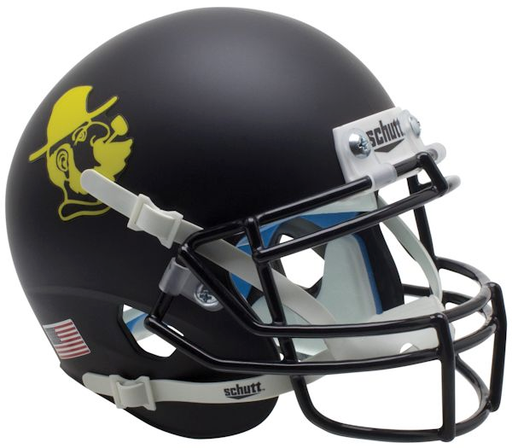 Appalachian State Mountaineers Schutt XP Mini Helmet - Yosef Black