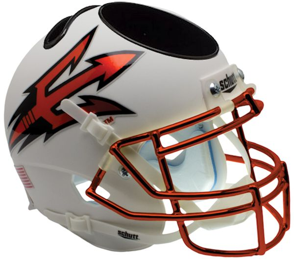 Arizona State Sun Devils Mini Helmet Desk Caddy - Chrome Mask