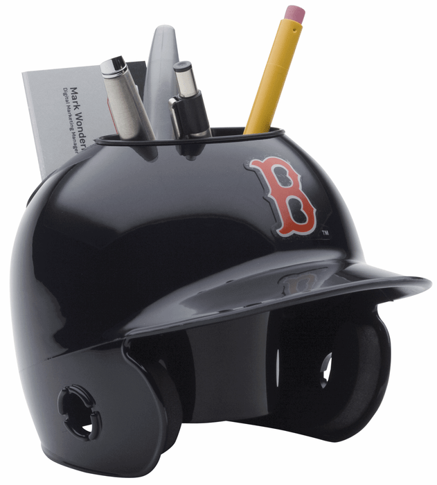 Boston Red Sox Mini Batters Helmet Desk Caddy
