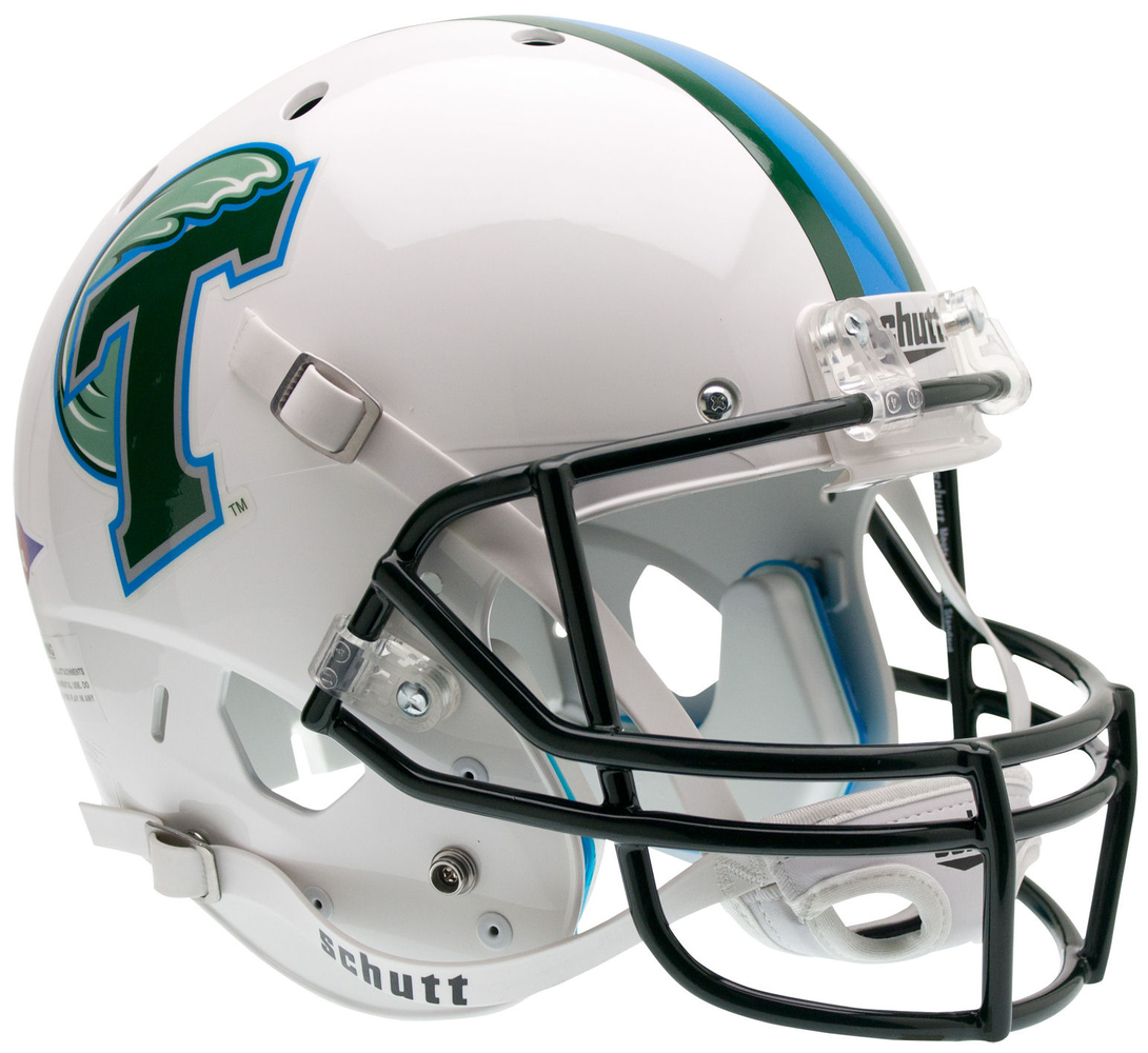 Tulane Green Wave Replica Schutt XP Full Size Helmet