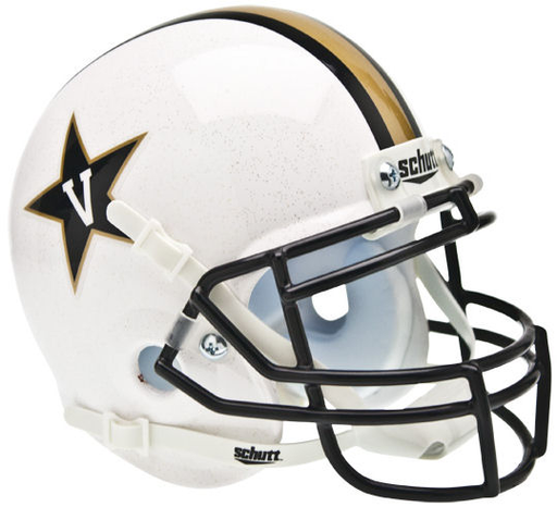 Vanderbilt Commodores Schutt XP Mini Helmet - White