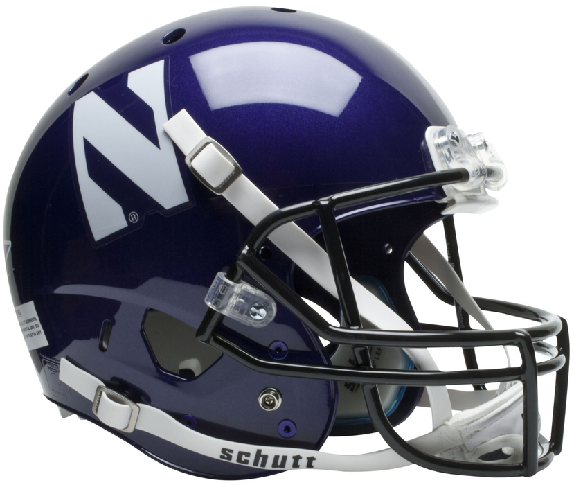 Northwestern Wildcats Replica Schutt XP Full Size Helmet