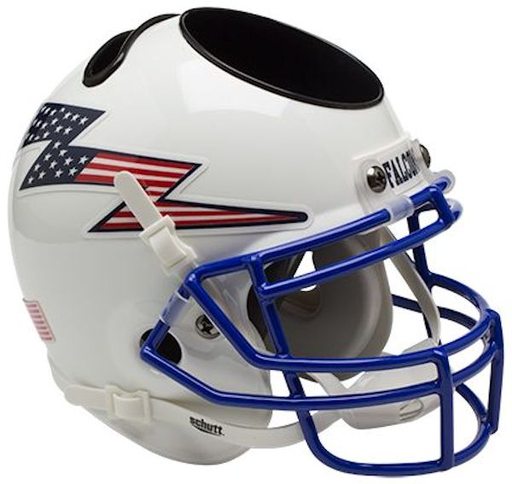 Air Force Falcons Mini Helmet Desk Caddy - Flag Bolt