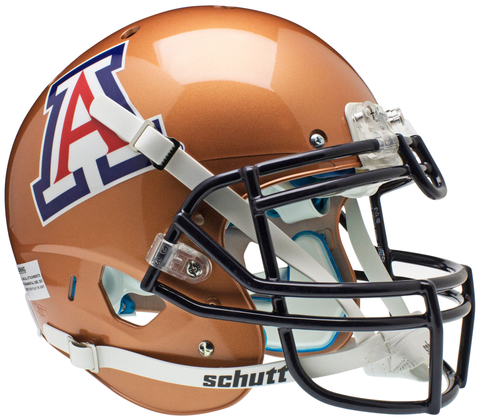 Arizona Wildcats Authentic Schutt XP Full Size Helmet - Copper