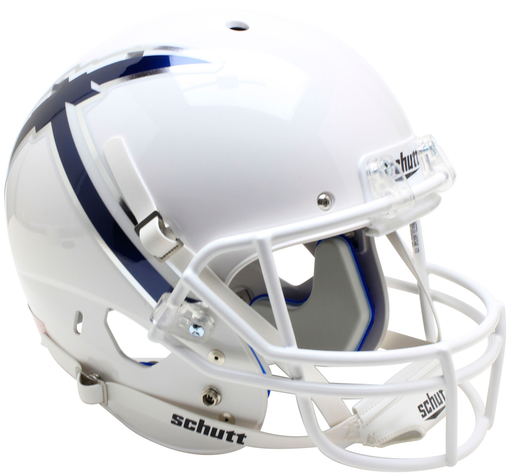 UTEP Miners Replica Schutt XP Full Size Helmet - White With Pickaxe