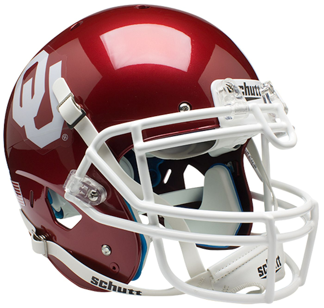 Oklahoma Sooners Authentic Schutt XP Full Size Helmet
