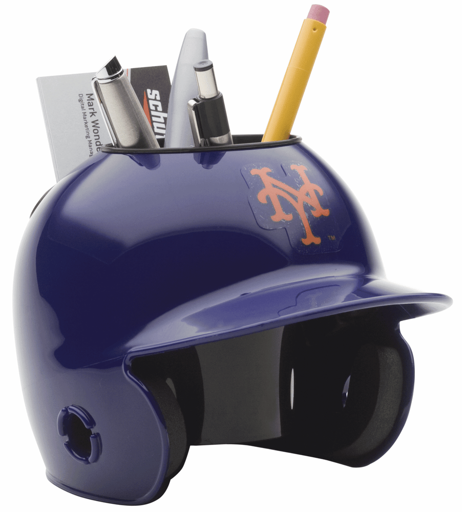 New York Mets Mini Batters Helmet Desk Caddy