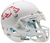 Arkansas Razorbacks Authentic Schutt XP Full Size Helmet - Matte White