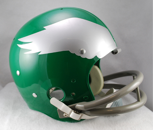 Philadelphia Eagles Full Size Throwback Helmet - 1959 to 1969 TK