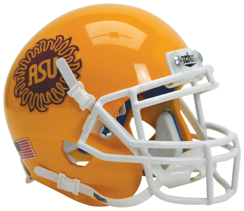 Arizona State Sun Devils Schutt XP Mini Helmet - Sunburst