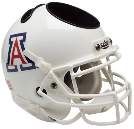 Arizona Wildcats Mini Helmet Desk Caddy - White