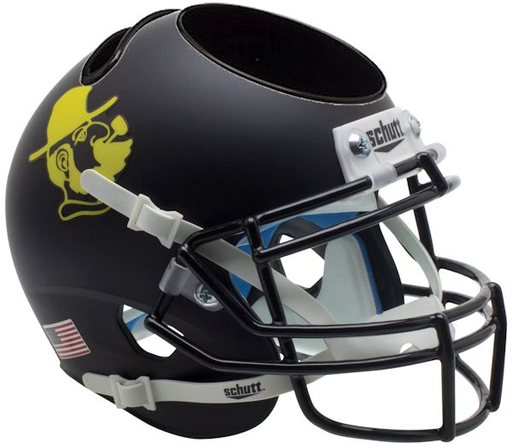 Appalachian State Mountaineers Mini Helmet Desk Caddy - Yosef Black