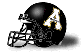 Appalachian State Mountaineers Schutt XP Mini Helmet - Matte Black